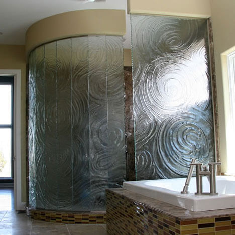 Frameless Custom Glass Shower Enclosures Orange County Ca