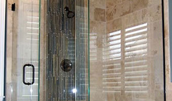 Contemporary Frame Shower Enclosure