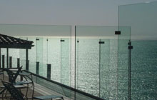 Outdoor Glass Deck Rail