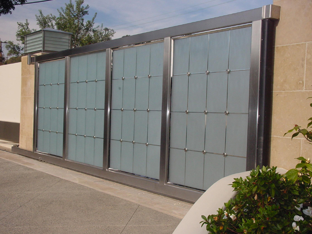 Aluminum Frame Glass Doors