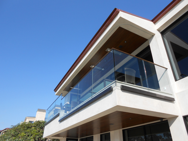 Residential Glass Railing