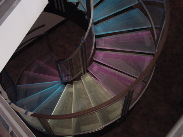 San Clemente Glass Railing