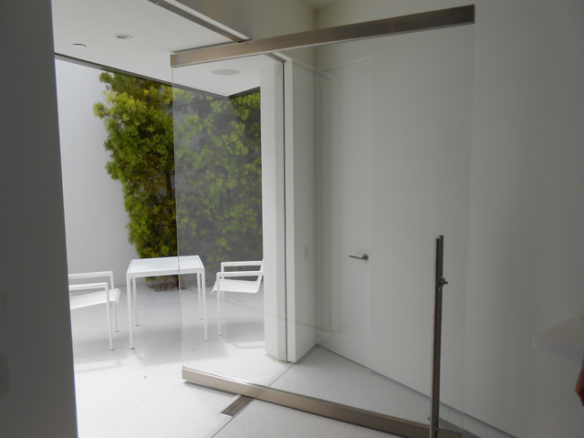 Pivot Glass Door Installation