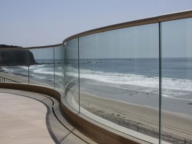 Glass for Deck Railing