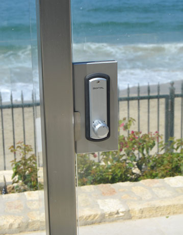 Glass Railing System Lock