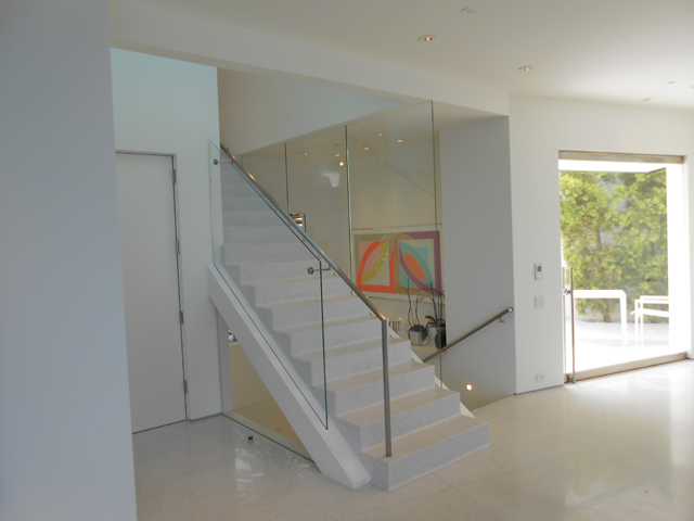 Stress Glass Railing