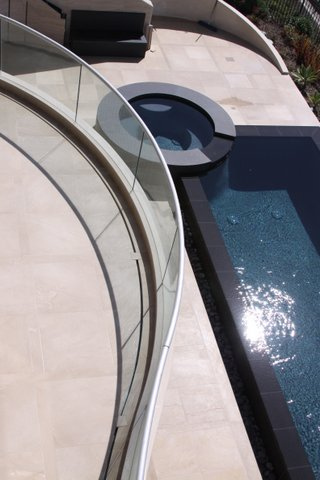Residential Pool Glass Railing