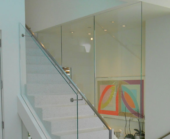 Stainless Steel Stair Glass Railings
