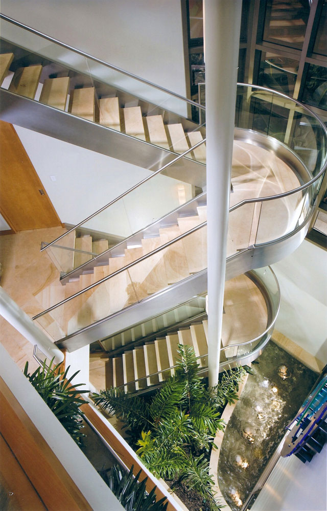 Interior Modern Stair Railings