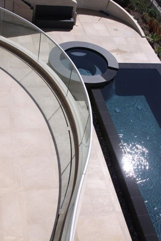 Home Pool Privacy Glass Fence