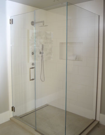 Frameless Glass Shower Enclosure OC