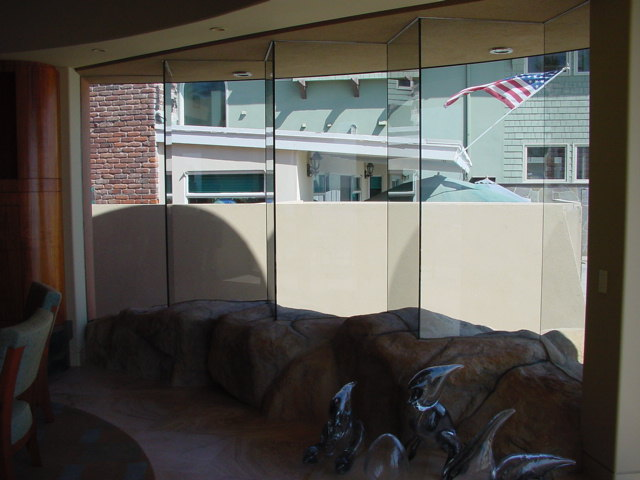 Sliding Folding Glass Doors