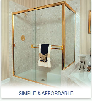 Simple & Affordable Shower Enclosures